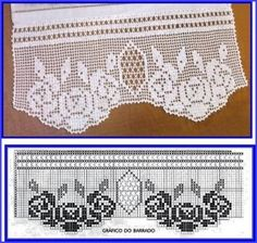 ❤ ♥  Crochê - Flores  com Motivos -  /  ❤ ♥ Crochet - Flowers  with Motifs -