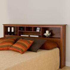 Free Bookcase Headboard Plans Diy Projects Pinterest Storage And Woodworking
