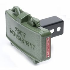 Claymore hitch cover!