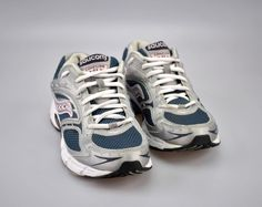 89e6f76d63c Saucony Cohesion NX Running Women Shoes Silver Pink Blue Size 8.5