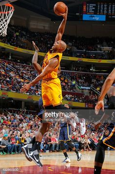 official photos a2272 814c4 Richard Jefferson of the Cleveland Cavaliers dunks against the Indiana  Pacers on Thursday at Quicken Loans Arena in Cleveland, Ohio.