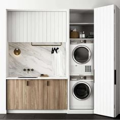 40 Small Laundry Room Ideas and Designs 2018 Laundry room decor Small laundry room organization Laundry closet ideas Laundry room storage Stackable washer dryer laundry room Small laundry room makeover A Budget Sink Load Clothes Laundry Cupboard, Laundry Room Storage, Laundry Nook, Bathroom Storage, Linen Cupboard, Garage Storage, Drying Cupboard, Utility Cupboard, Laundry Decor