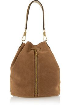 Elizabeth and James Cynnie Sling suede backpack | NET-A-PORTER