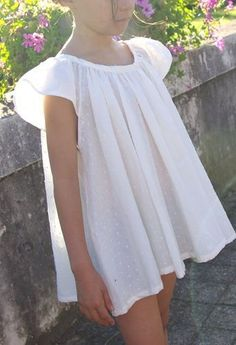 Maxi-tunique issue du modèle ASCELLA (Grains de Couture pour Enfants), Grains de Maïs