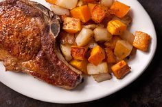 Roasted Butternut Squash and Pears