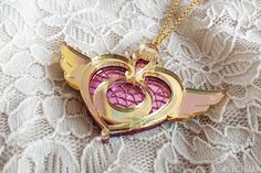 Sailor Moon Crisis Moon Compact Necklace by Alicieux on Etsy