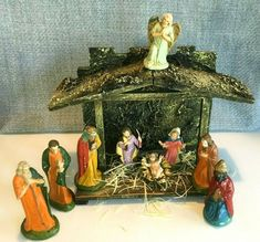 Nacimiento Navideno 11pcs New 18 Inch Christmas Nativity Complete Set//11 Pieces