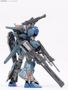 MG 1/100 Duel Gundam Assaultshroud - Painted Build