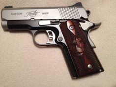 """Martin M. says """"There is NO better looking handgun than a Kimber!"""""""