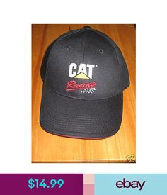9d05c271eaccb Hats Caterpillar Ball Cap Hat Black Cat Racing Logo  ebay  Fashion · Oruga Gorras