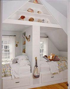 Romantiline magamistuba suurematele lastele.