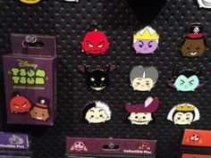 Villains Tsum Tsum Mystery Pin Set