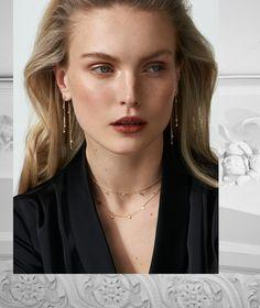 Queen of Diamonds from Tada & Toy, 22 demi-fine products. Fine Jewelry, Jewellery, Jewelry Collection, Arrow Necklace, Toy, Diamond, Fashion, Moda, Jewelery