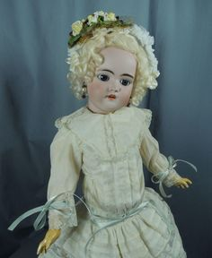 """Precious Near Perfect Early Antique 20"""" Simon Halbig 1079 DEP Some from fionasdollyfinds on Ruby Lane"""