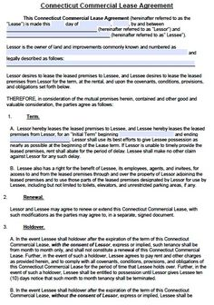 printable sample commercial lease agreement form. Resume Example. Resume CV Cover Letter