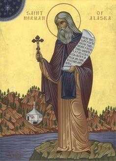 Icon of St. Herman of Alaska - c.