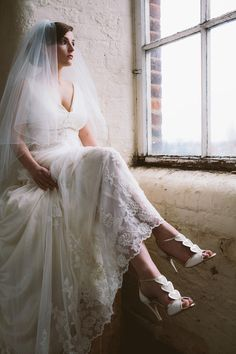 All That Glitters - Beautiful New Wedding Shoes from Charlotte Mills | Love My Dress® UK Wedding Blog