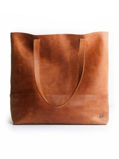 Mamuye Tote in cognac from fashionABLE, hand crafted in Ethiopia