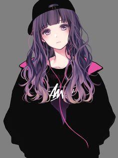to all anime lovers Cool Anime Girl, Pretty Anime Girl, Cute Anime Pics, Beautiful Anime Girl, Kawaii Anime Girl, Anime Art Girl, Anime Love, Anime Girls, Cute Manga Girl