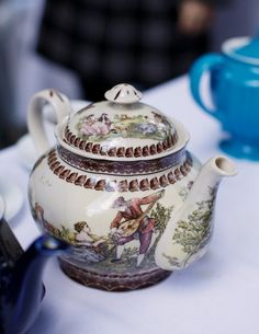 Truly an English teapot....