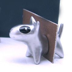 Oh My Dog! Craft Books, Book Crafts, Arts And Crafts, English Bull Terriers, Love Bugs, Bullies, Dog Stuff, Awesome Stuff, Card Holder
