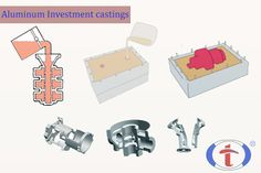 Discuss about different types of mold for #aluminium #investment #castings