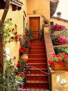 What a lovely scene Beautiful World, Beautiful Homes, Beautiful Places, Beautiful Pictures, Places Around The World, The Places Youll Go, Around The Worlds, Places In Italy, Tuscan Style