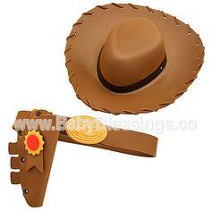 Sombrero y correa de Woody