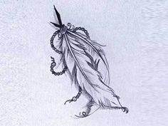 Significado de Tatuagem de Pena no Brasil