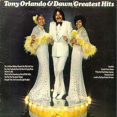Tony Orlando and Dawn--the 70s produced some incredible groups and music.  This group wasn't one of them.  They were, however, responsible for the idea of yellow ribbons, which endures today. I had this on 8 track.