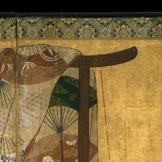 The Metropolitan Museum of Art - Whose Sleeves? Japanese Kimono, Japanese Art, Japanese Screen, Edo Period, Japanese Painting, Metropolitan Museum, Antiques, Nature, Artists
