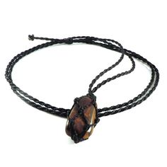 Tiger Eye necklace mens jewels vitality necklace gift for
