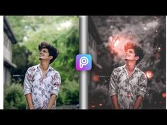 picsart tutorial - YouTube Portrait Background, Love Background Images, Editing Background, Video Editing, Photo Editing, Digital Photography, Photography Backdrops, Picsart Tutorial, Butterfly Photos