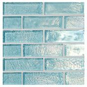 Water and Sky Glass Mosaic Tile
