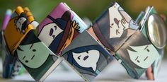 One of a kind Adventure Time Marceline cuff by FantasticFoldsShop, $23.00