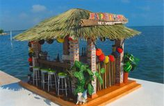 First Place Winner - Sarah M. Fuller P-Poppa's Tiki Bar