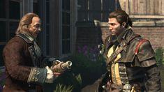 Assassin's Creed Rogue: Shay Cormac and Benjamin Franklin