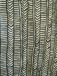 Authentic West African Mud cloth from Gabon ready to ship!