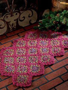 Crochet - Hearth Rug - #EC01019