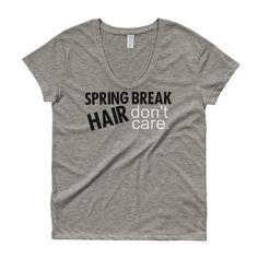 Spring Break Hair Ladies' Roadtrip Tee
