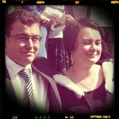 Tom and me graduation edited via be funky editior