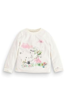 Buy Ecru Girl T-Shirt (3mths-6yrs) from the Next UK online shop