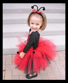 LoVELY LiL LADYBUG TUTU only  Perfect for Ladybug by TutuTwirls, $29.50