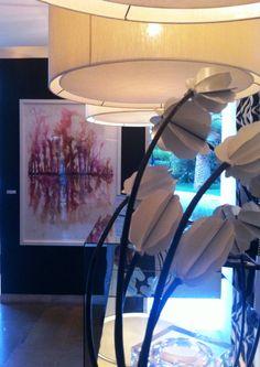 "Exposição/ Exhibition ""Color Field-on the Water"" Farol Design Hotel 2013/2014. Made by João Feijó Art."