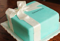 Adorable Tiffany cake!