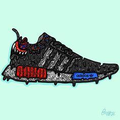 """Sneaker Art Kanye Yeezy 350 """"Turtledove"""" Kanye"""