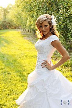 bridal hair & headpiece