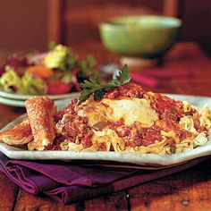 Freezer-Friendly One-Dish Meals | http://www.southernliving.com/food/whats-for-supper/one-dish-wonders-00400000007800/#