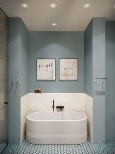 65 ideas for apartment bathroom renovation bath tubs House Bathroom, Bathroom Interior, Bathroom Makeover, House Interior, Apartment Projects, Bathroom Decor, Bathroom Renovation, Bathroom Design, Beautiful Bathrooms