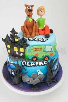 tort scooby doo, scooby doo cake, shaggy cake, tort dla chłopca